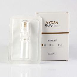 Wholesale Micro Derma Needle Roller Australia - Hydra Needler 64 pins Titanium Microneedle Automatic Hydra Derma Roller micro needles 0.25mm 0.50mm 1.00mm
