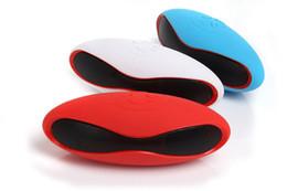 $enCountryForm.capitalKeyWord Australia - Mini Portable Mini-X6U X6 Rugby Football Stereo Speaker X6U Soccer Wireless Bluetooth Handsfree FM With MIC USB AUX Micro TF Card MP3 Player