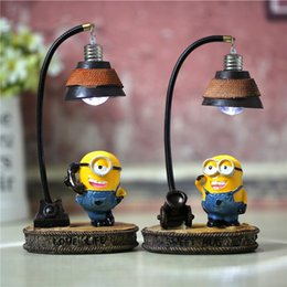 hot sale the minions lamp nightlight resin decoration lamp wholesale mysterious festive atmosphere for studentschristmas creative gift