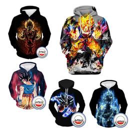 Men aniMe sweater online shopping - Hoodie Men D Sweater Dragon Ball HOODIES Autumn Thin Pullover D Printed Jumper Men Anime Sweaters Comics Tops Goku Ball Z print Tee