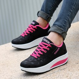 7a762ad5a Sneakers da donna in pelle traspirante e scarpe Sport Shake Fitness