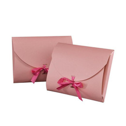 printed large gift boxes UK - 28*21*2cm Large Scarf Gift Box Towel Packaging Box Envelope Gift Paper Box Postcard Ribbon Bow Packing Boxes 200pcs lot
