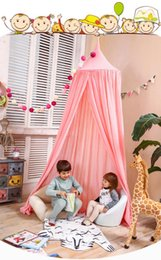 $enCountryForm.capitalKeyWord Canada - Children Canopy Tent Playhouse Kids Crib Netting Play Tent Baby Hanging Teepees Tipi Mosquito Net For Boy Girls Room Decoration
