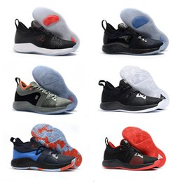 $enCountryForm.capitalKeyWord NZ - 2018 New Arrive Paul George Basketball sneakers shoes big kids Childrens black red Athletic Shoes Free shipping