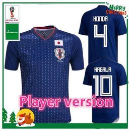fcbce5e5b TOP Player version Japan soccer jerseys 2018 world cup ATOM 10 CARTOON  NUMBER Tsubasa KAGAWA ENDO OKAZAKI NAGATOMO Football Shirt uniforms