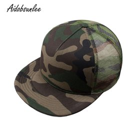 2018 New Arrival Men s Baseball Cap Mesh Hip Hop Men s Summer Hat Cap Army  Camouflage Bone Truck Snapback Father s Hats 620562d6aebe