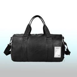 235d7f342 Wobag Nueva Moda de Calidad Bolsa de Viaje PU de Cuero Pareja Bolsas de  Viaje Equipaje