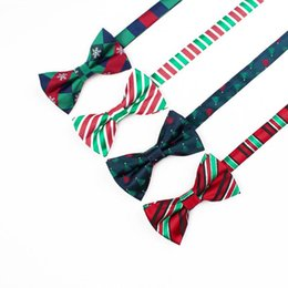 $enCountryForm.capitalKeyWord NZ - Free Shipping TIESET Christmas 2017 New Bow Tie Christmas Element Bow Tie Christmas Tree Candy Snowflake Gift For Man