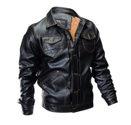 Water Proof Coatings Australia - 2018 New Men's fashion Motorcycle Leather Leather Clothing Leather Jacket Water Proof Coat