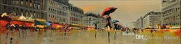 Painting Good NZ - handmade good quality canvas impression oil painting paris hanging wall art wholesale living room decoration unique gift Kungfu Art