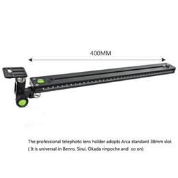 Discount sliding rails - 400mm Long Quick Release Plate Lens Bracket Kit for Camera Bird Watching Lengthened Quick Release Plate Long Nodal Slide