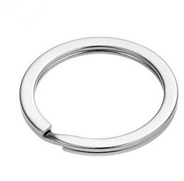 metal rings 25mm UK - 100Pcs Metal Key Holder Split Rings Keyring Keychain Keyfob Accessories 25mm hot sale 2018 New Arrival Dec 27