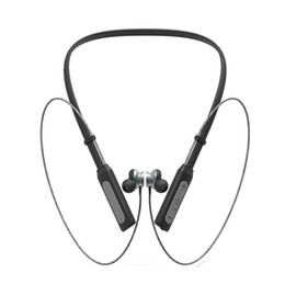 HeadpHones ligHtweigHt online shopping - ANC BH1 Bluetooth Headphones Wireless Lightweight Neckband IPX5 Waterproof with Mic Earphone for Smart Mobile Cellphone