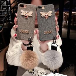 Hot Sales Iphone Case Australia - New Designer Fashion Brand Phone Case for IPhone X 6 6S 6plus 6S Plus 7 8 7plus 8plus 2018 New Arrival Hot Sale TPU Flannel Case 2 Styles