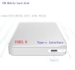 H1 HDD 1 TB USB3.0 Tip-c arayüzü 2.5pin 1 TB Mobil sabit disk Dizüstü mobil sabit disk depolama Yüksek hızlı iletim