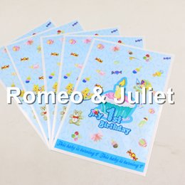 My 1st Birthday Theme Party Decorations Gift Favors Bags For Baby Boy Girl 1 Year Old Bag10pcs