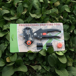 trees cutters Australia - Grafting machine Garden Tools with 2 Blades Tree Grafting Tools Secateurs Scissors tool Cutting Prune