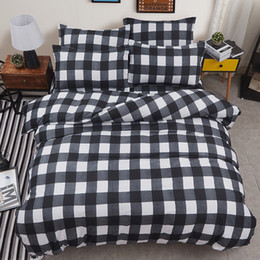 $enCountryForm.capitalKeyWord NZ - Black and white checkered king queen full twin size Bedding Set Duvet Cover Sets Include Duvet Cover Bed Sheet Pillowcase