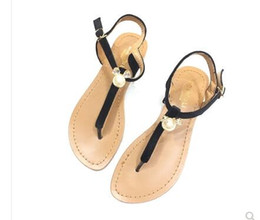 c3f46e85f 2018 Red Matte Genuine Leather Brand New Women Thong Sandals Summer Women  Beach Sandals Famous Flip Fllops Sold by T1432607238