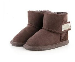 China Hot sale Australian WGG high quality Cotton boots children's clothing boys and girls baby warm Snow boots girls students Snow winter boots supplier boy girls lycra clothing suppliers