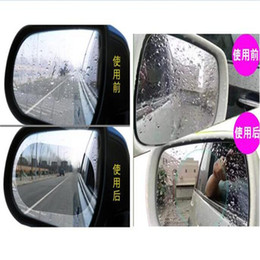 shipping film for cars UK - Anti-fog Rearview mirror film Car rearview mirror sticker anti-fog protective film waterproof nano film for car free shipping