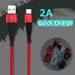 Discount color sync usb iphone - Micro USB Cable High Speed Nylon Braided Charging Cables Type-C Android Sync Data Cable for Samsung Huawei Android i 7 8