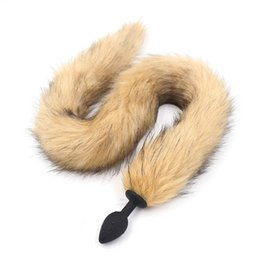 Sex Toys Sex Products Hot Sale Anal Sex Toys Faux Fur Fox Tail Silicone Butt Plug Fox Tail For Roleplay Fancy Dress Cosplay Sex Products