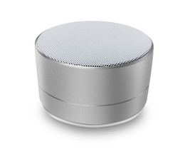 $enCountryForm.capitalKeyWord UK - silver gray color A10 metal Bluetooth audio mobile computer notebook dedicated subwoofer mini steel cannon wireless card small speaker