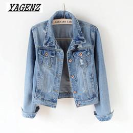 9985e0715a Women Basic Coat Denim Jacket Women Slim Vintage Denim Jacket For Jeans  Coat Plus size 5XL Casual style