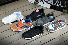 Wholesale 2018 The latest high quality Originals ZX500 RM Son Goku fashion casual men and women sports shoes
