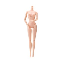 Chinese  One Piece DIY 12 Joints Naked Body Without Head for BJD Doll Kids Toys for Children Girls Birthday Gifts Different Shapes manufacturers