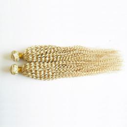 $enCountryForm.capitalKeyWord NZ - 200g Brazilian Water Wave 100% Human Hair Weave Bundles Non Remy Hair 2pc Can Be Dyed#613 Bleach Blonde Human Hair Weave Bundles