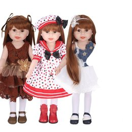 $enCountryForm.capitalKeyWord NZ - American Doll Handmade Apparel Accessories Fit For 18inch Dolls Clothes Children Color Christmas Gift Collection High Quality 55nh WW