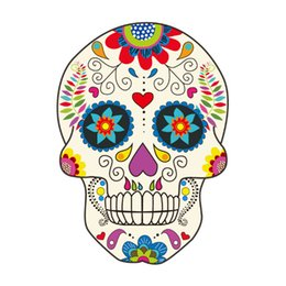 stickers packs UK - 5 PCs   Pack Personal skull pattern car stickers car scratches beautify decorative car stickers notebook stickers