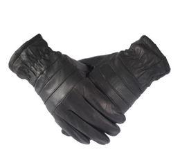 c4d51b90bd9ed Winter leather driving gloves men online shopping - 2017 new warm winter  genuine leather men s