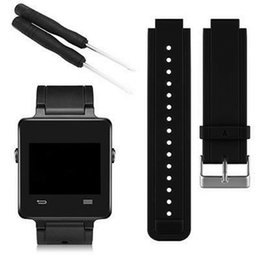 $enCountryForm.capitalKeyWord Canada - Newest Silicone Replacement Watch Band Wrist Support Watchband Strap Bracelet for Garmin Vivoactive Smart Watch Band With Tools