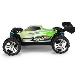 New Design 1  18 70km  H 4wd Off -Road Vehicle 2 .4g 540 Brushed Motor Smart Tail Design Suspension Springs High Speed Rc Car on Sale