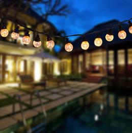$enCountryForm.capitalKeyWord Australia - 30FT 25Bulbs Led Globe String Light USB Power Waterproof Plastic Globe Light String Strip Christmas Light Garland Copper Wire Patio String