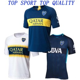 5969a7a1cb1 Soccer Jersey Shirt Thai Quality Canada - 18 19 Boca Juniors Soccer Jersey  Mens Top Thai