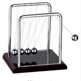 metal balance toys NZ - Newton Teaching Science Desk toys Cradle Steel Balance Ball Physic School Educational Supplies home decoration accessories
