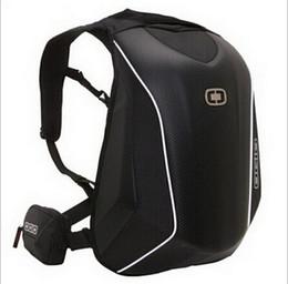 Новые поступления OGIO Mach 5 Рыцарский рюкзак Водонепроницаемый мотокросс рюкзак компьютерная сумка из углеродного волокна Жесткая оболочка