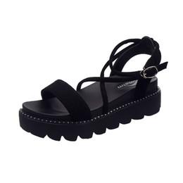 06e39ec42 2018 Zapatos de marca Mujer Chaussures Femme Sandalias Zapatos Mujer  Plataforma Casual Sandalias planas de verano Scarpe zapatos de mujer Sapato  Feminino