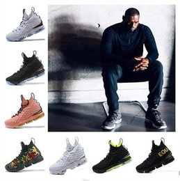 Cheap Halloween Shoes NZ - 2019 New Arrival designer shoes 15 EQUALITY Black White Basketball Shoes for Men 15s EP Sports Training Sneakers Arrival Cheap