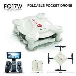 $enCountryForm.capitalKeyWord Canada - NEW Remote control toy hd camera drone portable folding uav WIFI connection APP operation fixed height.FQ777 17W