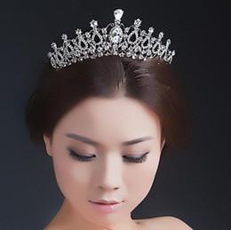 $enCountryForm.capitalKeyWord Australia - Bridal crown classic water drop modelling wedding headwear wedding accessories