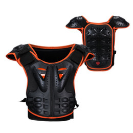 Discount reflective board - Kids Body Skiing Motorcycle Jackets Armor Children Armor Vest Protective Suitable Skate Board Skiing Pulley Reflective K
