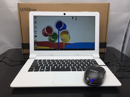Built Laptops Canada - Free shipping multi language windows 10 system 11.6 inch mini laptop 2G ram 32GB emmc built in bluetooth camera