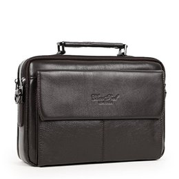 $enCountryForm.capitalKeyWord NZ - New Item 100% genuine leather messenger bags for men small crossbody Famous brand men fashion casual shoulder bag male handbags