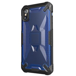 Wholesale New coming for designer phone cases iphone plus shockproof wing soft edge protective robot Case Hybrid pc tpu defender case