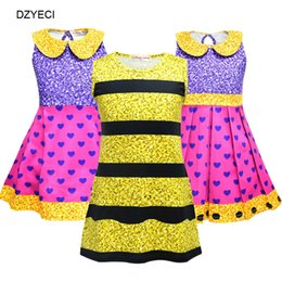 Halloween Costume Cosplay Per Baby Girl Dress Lol Bambola Kid a righe a  forma di cuore Principessa Frock Bambini Boutique Disguise Up Abiti efb18c5b700